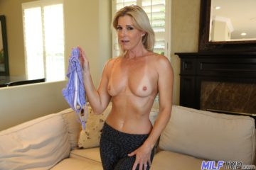 Hot MILF India Summer ALmost Naked